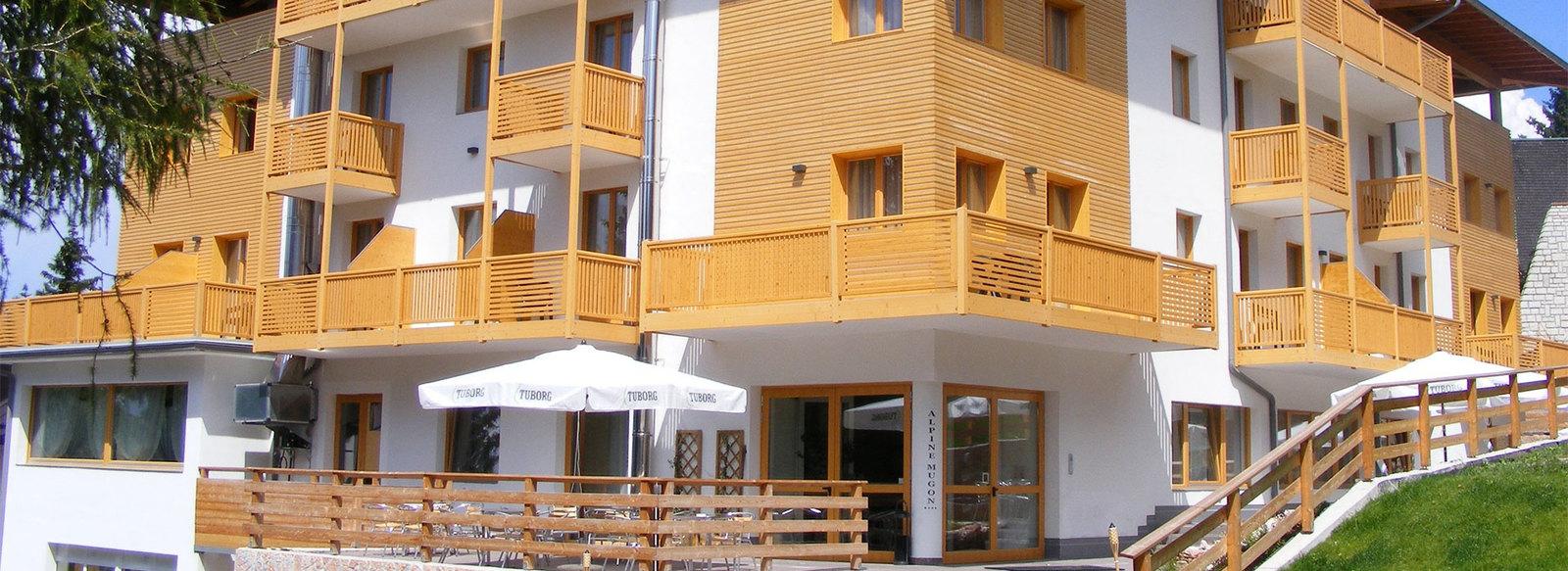 1.000 mq di spa sulle Dolomiti