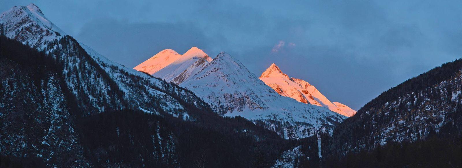 Vista panoramica sul Grossglockner