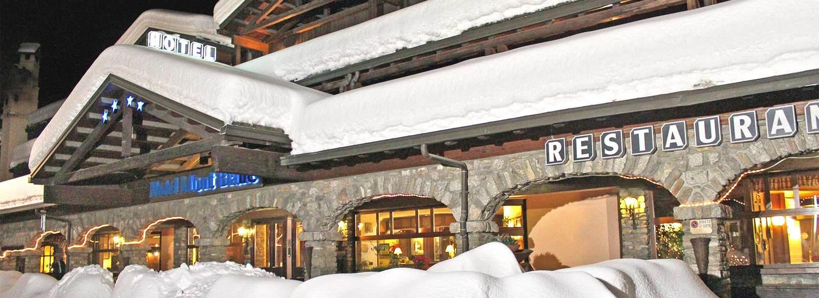 Ambiente curato, ai piedi del Monte Bianco