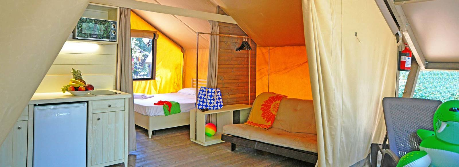 Glamping: Glamour & Camping tra mare e pineta