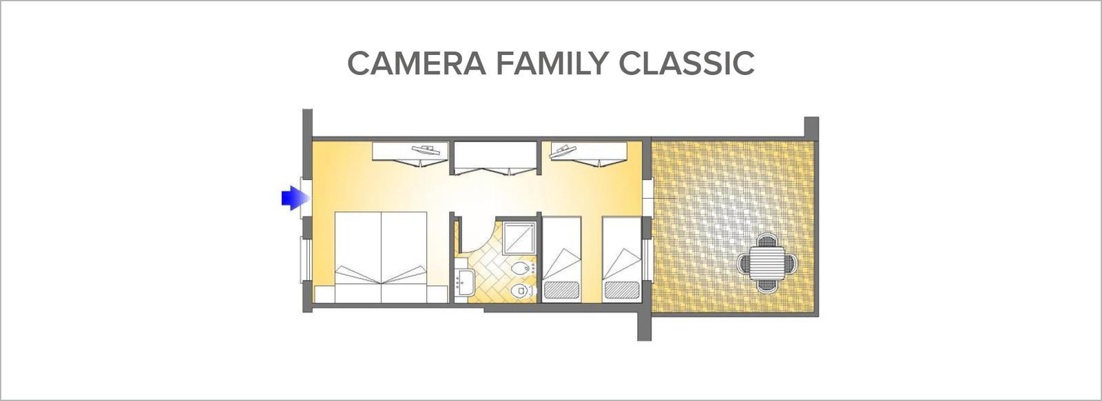 Elegante e raffinato family hotel - camera