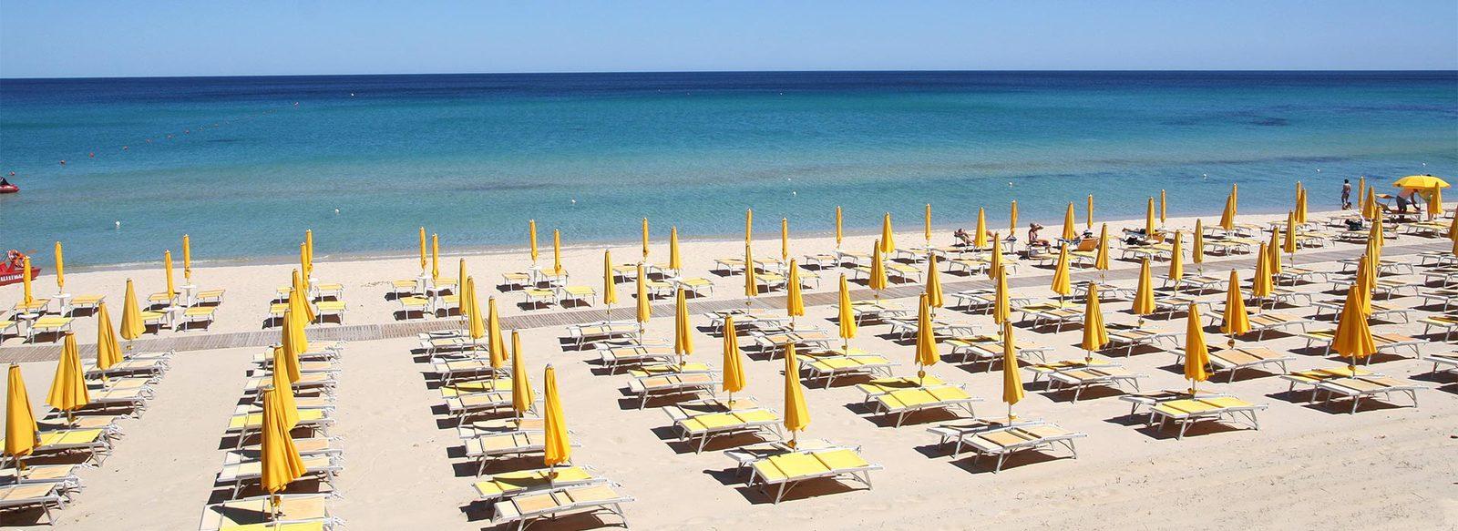 Direttamente sul mare, nella costa sud-orientale della Sardegna