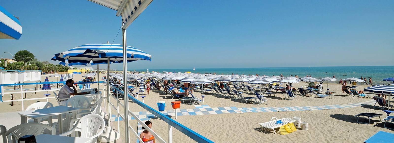 Qualità fronte mare, spiaggia inclusa