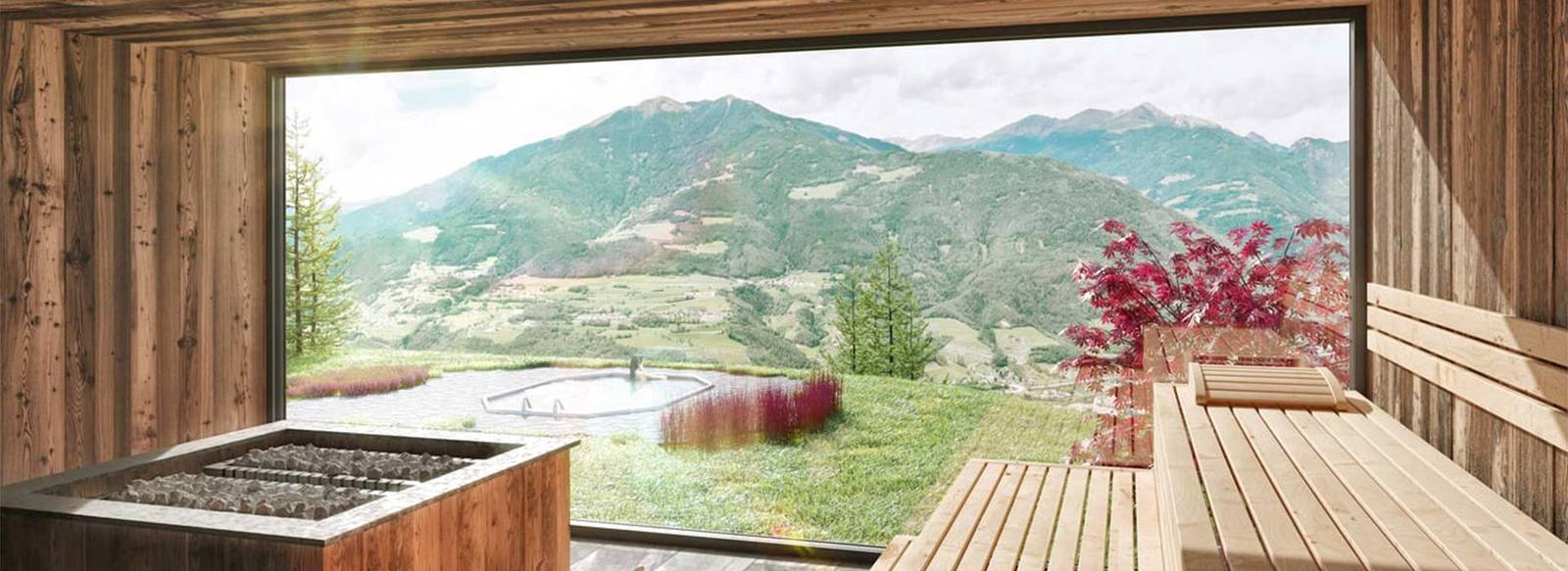 Posizione panoramica, in Val di Isarco