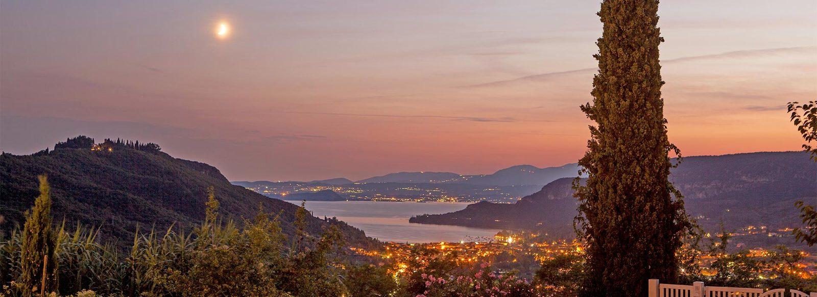 Relax e benessere con vista panoramica sul Lago di Garda