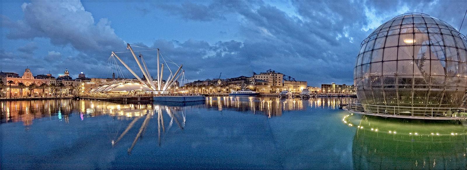 In posizione centrale a Genova
