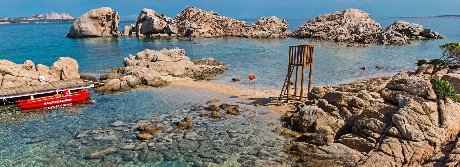 Con vista sull' arcipelago La Maddalena