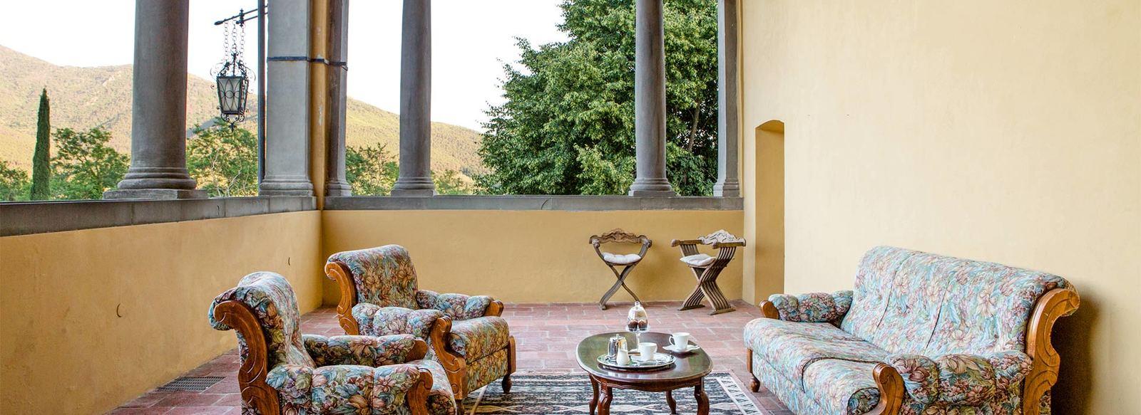 Villa rinascimentale immersa nella natura toscana