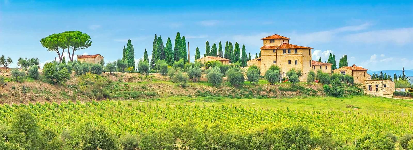 Tra le dolci colline del Chianti