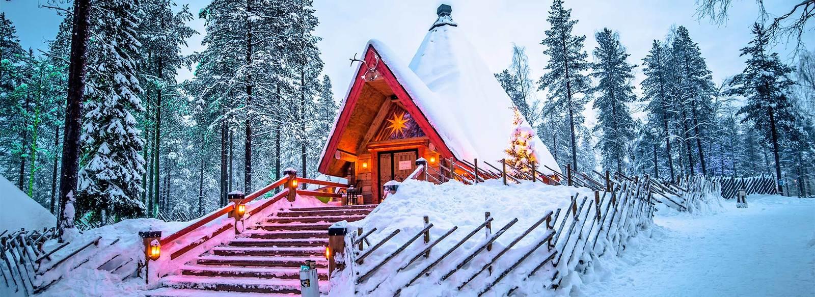 A Natale vieni a conoscere Santa Claus e ad ammirare l'Aurora Boreale