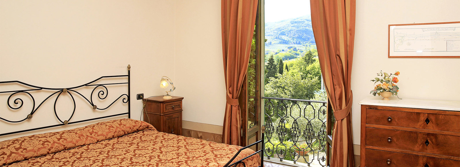 Vista sulle colline del Chianti