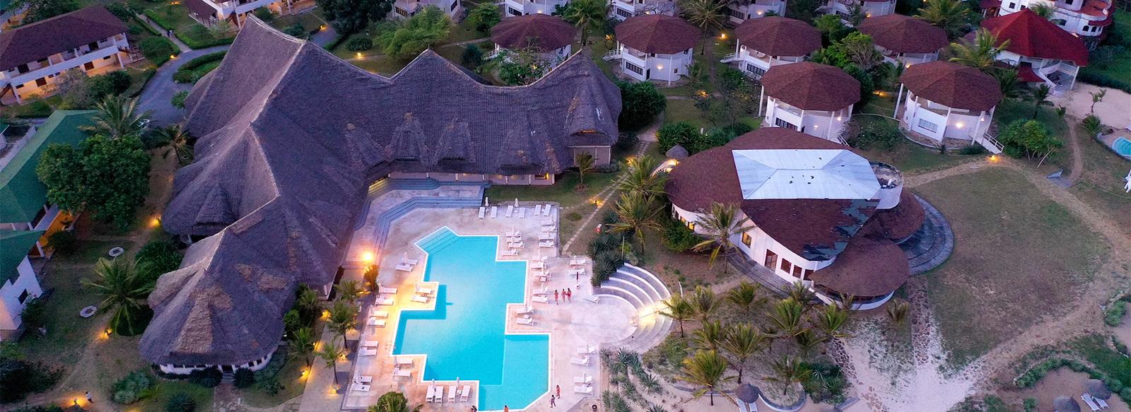 8 notti sul mare di Watamu con Kitesurfing spot nel Resort