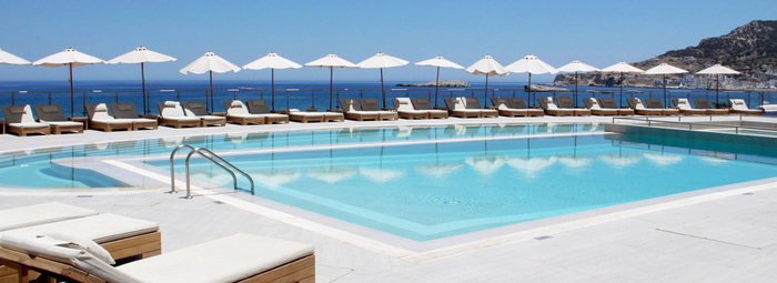 Moderno Resort 4*S sulla spiaggia di Pigadia