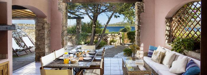 Eleganti ville con vista sul Golfo di Arzachena