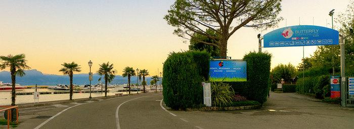 A 100 metri dal lago di Garda