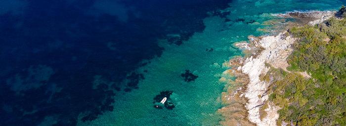 7000 mq di spiaggia privata in un parco naturale