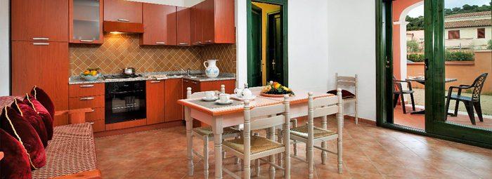 Appartamenti fino a 5 letti, nella costa sarda orientale
