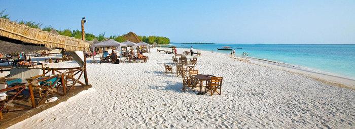 Sulla spiaggia corallina di Kendwa