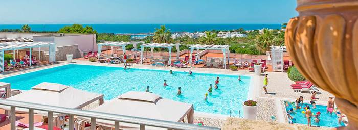 Panoramico resort, ideale per bambini