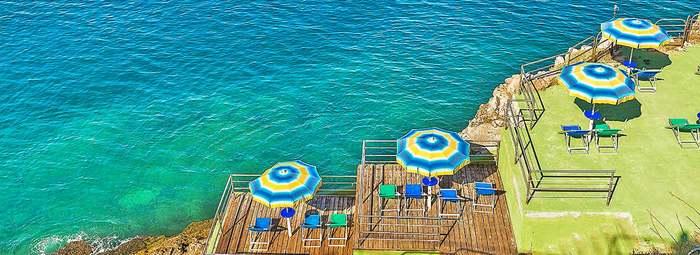 Vista spettacolare sul Golfo di Castellammare