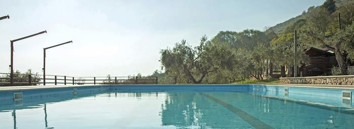 Silenzio, relax e natura - piscina