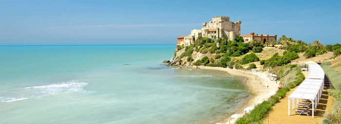 Sulla costa meridionale della Sicilia