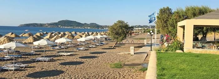 Resort di qualità su una suggestiva spiagga