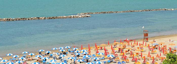 Direttamente sul mare in Riviera Romagnola
