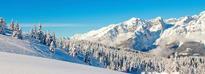 Area wellness di 1200 mq nel cuore delle Dolomiti