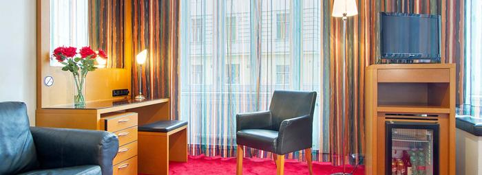 Elegante Hotel 4* in stile Art Nouveau a Praga