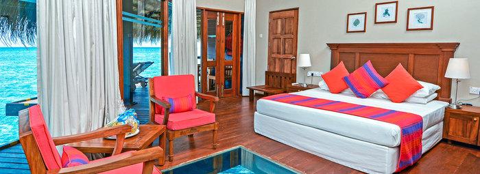 Resort circondato dalla barriera corallina