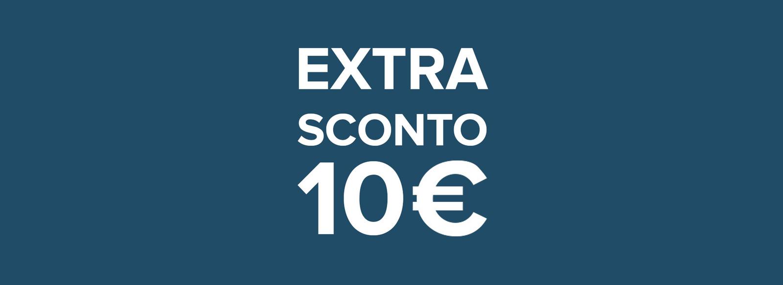 Prenota online con il codice PRENOTAWEB10, valido fino al 31/08/2021