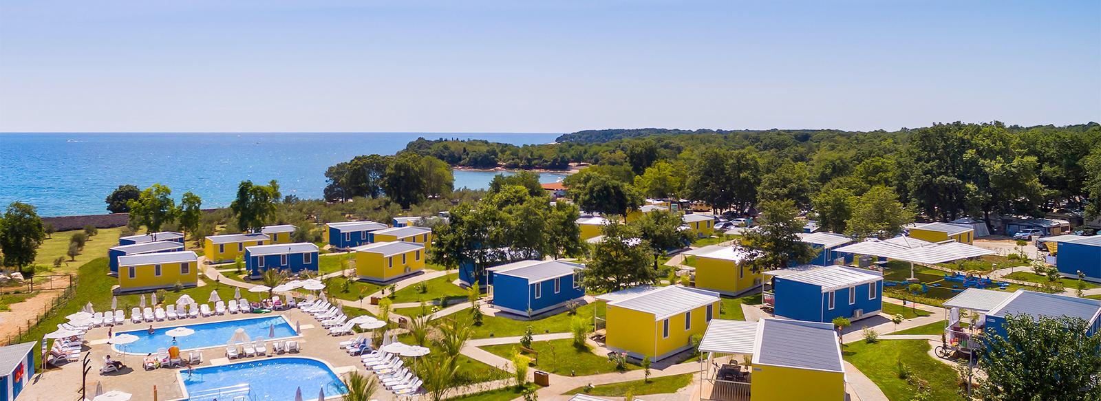 Camping village, family park, eco-resort in Italia e Croazia