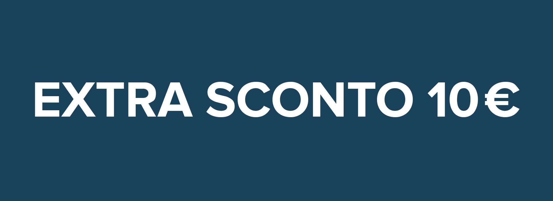 PROMOZIONE PRENOTA ONLINE: EXTRA SCONTO 10 €