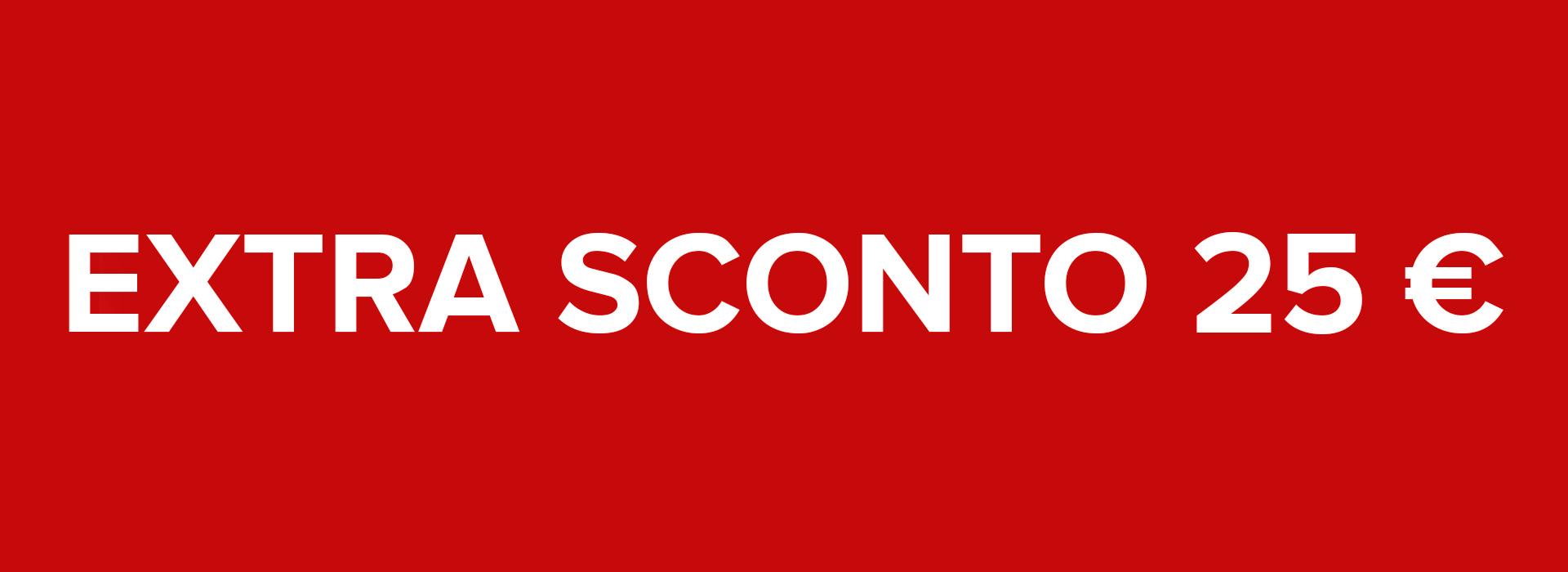 PROMOZIONE PRENOTA PRIMA ONLINE: EXTRA SCONTO 25 €