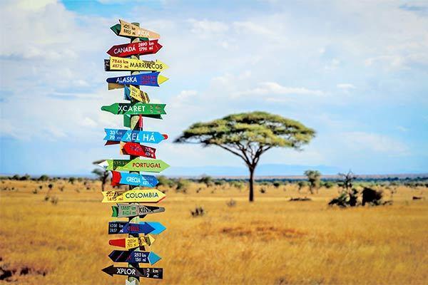 Un modo alternativo di concepire il viaggio visitando più luoghi in una volta.