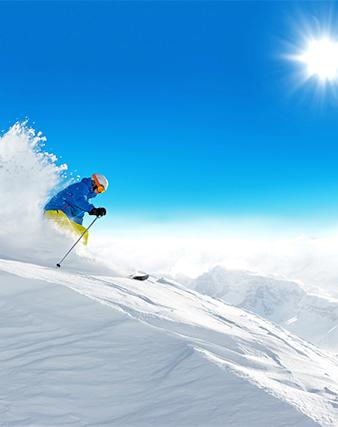 <span>Fuga sulla neve, tra sport e benessere.</span>