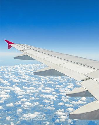 Scegli l'aereo e raggiungi comodamente la tua destinazione